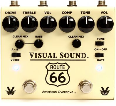 Visual Sound Route 66 V3 - kompresor a overdrive