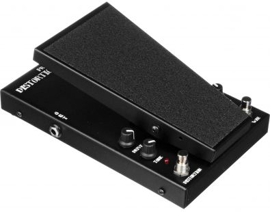 Morley Distortion Wah Volume pedál, model PDW–II - tři efekty v jednom