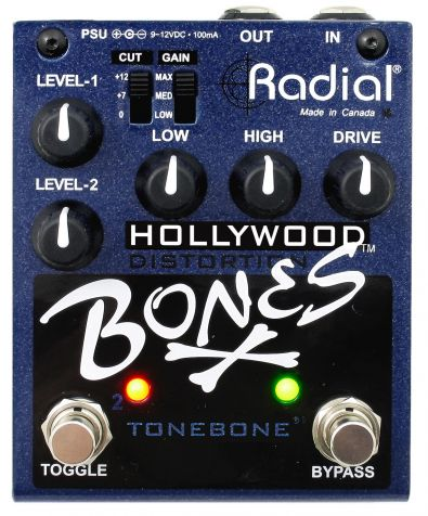 Tonebone Bones Hollywood Distortion - dvoukanálový overdrive/distortion