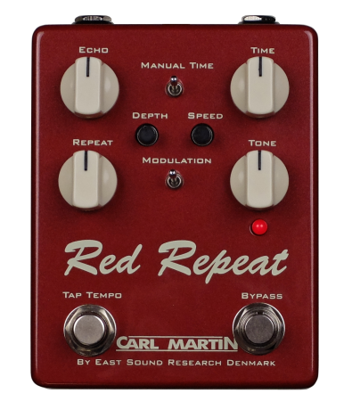 Carl Martin: Red Repeat 2016 Edition