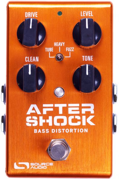 Source Audio Aftershock Bass Distortion - basový distortion
