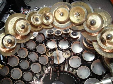Historie, legendy, klasika, rarity... - Cymbal stack