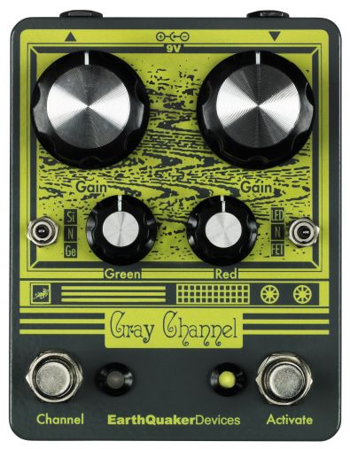 EarthQuaker Devices Gray Channel - dvoukanálový overdrive