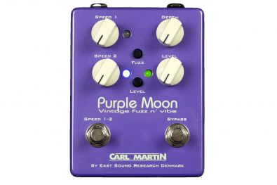 Carl Martin Purple Moon - fuzz a vibrato