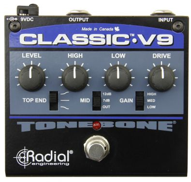 Radial Classic V9 - overdrive/distortion