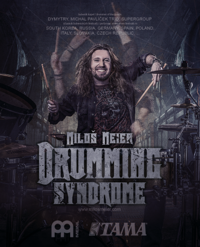 Miloš Meier Drumming Syndrome Tour 2018