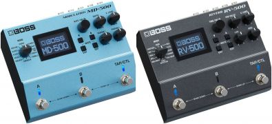 Boss MD-500 a RV-500 - modulace a reverb