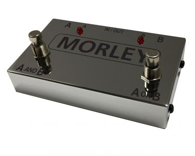 Morley: Limited 50th Anniversary Chrome Bundle – Mini Power Wah + ABY Box