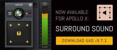 Universal Audio: Apollo X Surround Sound