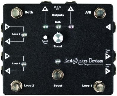 EarthQuaker Devices: Swiss Things