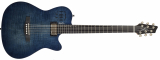 Godin: A6 Ultra Denim Blue Flame
