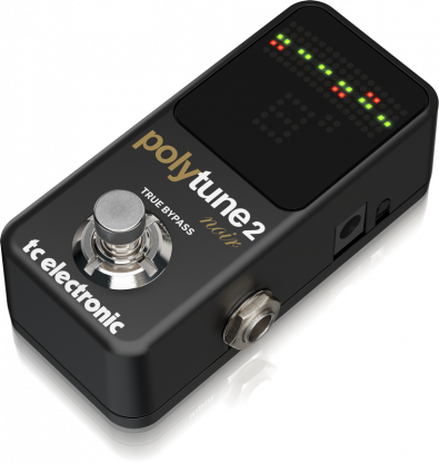 TC Electronic: Polytune 2 Mini Noir