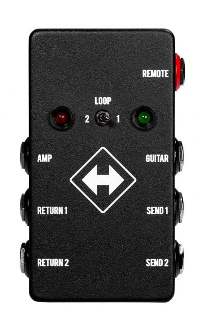 JHS Pedals Switchback - advanced loop switcher