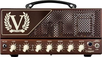Victory Amplifiers VC35 The Copper - celolampová minihlava