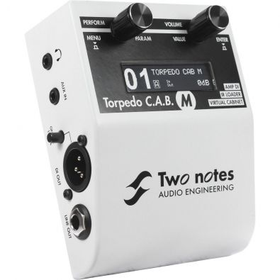Two Notes Torpedo C.A.B. M - loadbox a simulace reprobeden