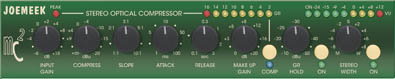 Joemeek MC2 Stereo Optical Compressor - stereo optický kompresor