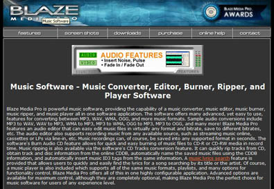 www tip - Blaze Media Pro software