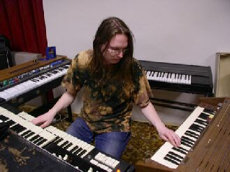 Red Baron Paul & keyboards...
