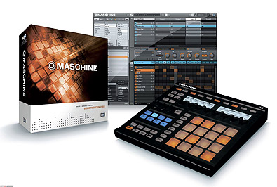 Native Instrument Maschine - groovebox, sekvencer a sampler...