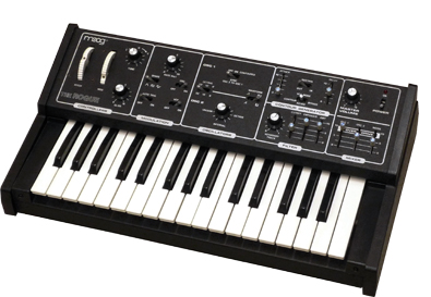 Moog The Rogue Model 342A  - historický test