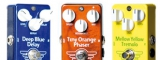 "Mad Professor Deep Blue Delay, Tiny Orange Phaser a Mellow Yellow Tremolo - Pedály ""šíleného profesora"" z Finska"