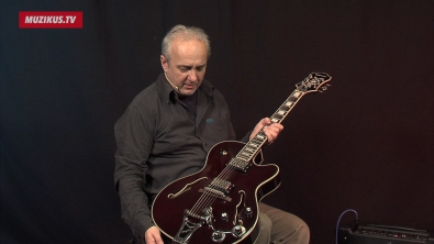 VIDEO: Epiphone Emperor Swingster Wine Red