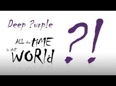 VIDEO: Deep Purple - All Time in the World