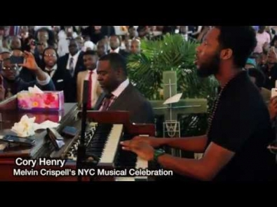 VIDEO: Cory Henry's solo Tribute to Melvin Crispell