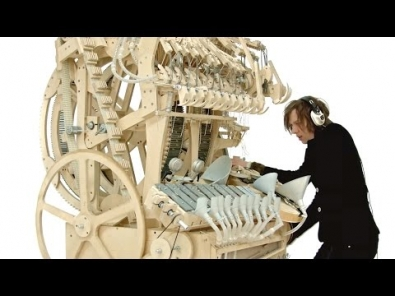 VIDEO: Wintergatan - Marble Machine