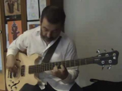 VIDEO: Jammin on my new Warwick Star Bass II