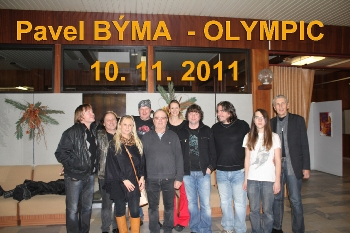 Pavel Byma rock Band a Olympic