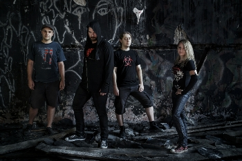 Plague Called Humanity photoshot 2016
