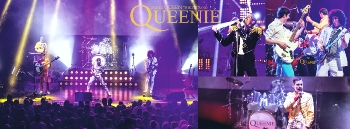 Queenie Queen revival Queen tribute Praha